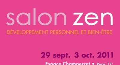 Participation au salon zen d veloppement personnel et bien for Salon zen champerret